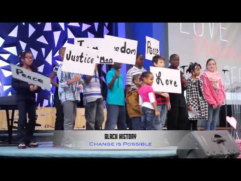"""All Nations Christian Center - Black History Skit ...  """"Change is Possible """""""