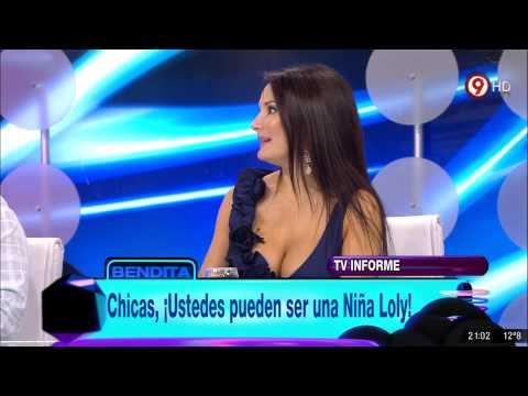 Betina Capetillo Escote Mortal en Bendita TV [HD]