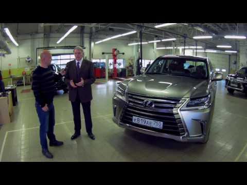 Lexus LX 450d - интервью с директором Лексус - Коломенское