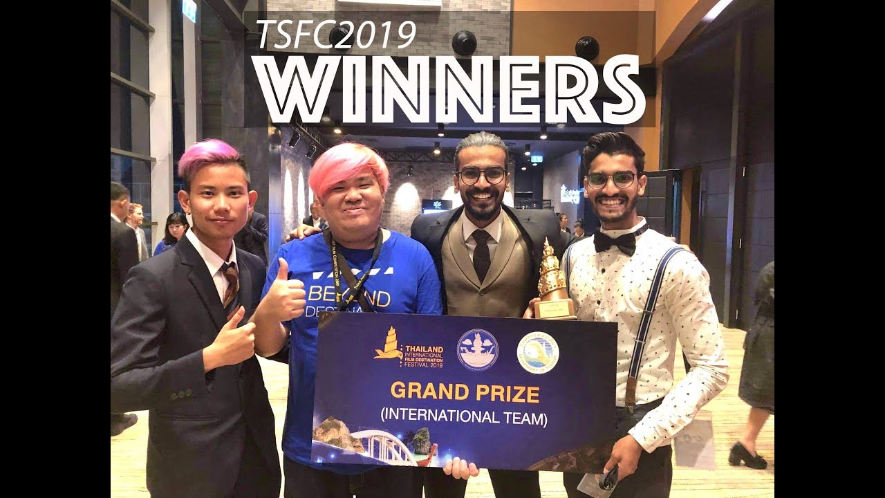 WINNERS of Thailand Short Film Competition 2019 - ENTIRE JOURNEY
