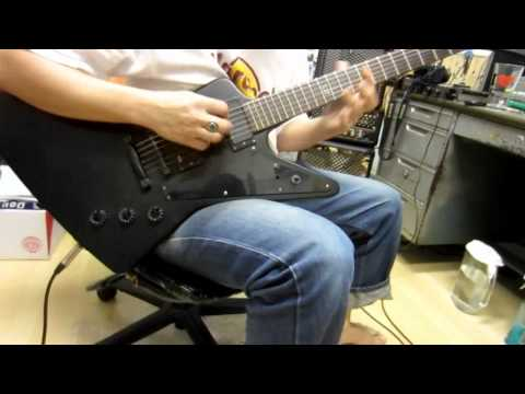 Epiphone Explorer Gothic Guitar Demo By Chatreeo