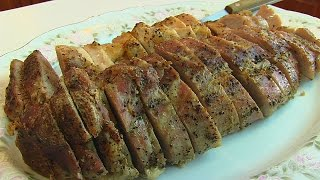 Betty's Roast Pork Tenderloin With Creamy Gravy