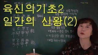 사주명리학 [육신의기초2 일간의 신왕(2)] 서울사주이…