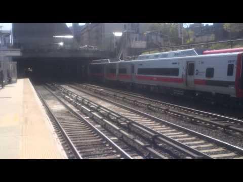 Metro North Harlem / New Haven Line Railfanning at Melrose Part 1