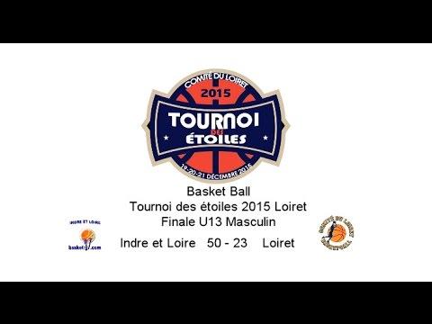 TournoiDesEtoiles2015Loiret Finale U13 Maculin Indre et Loire 50   23 Loiret