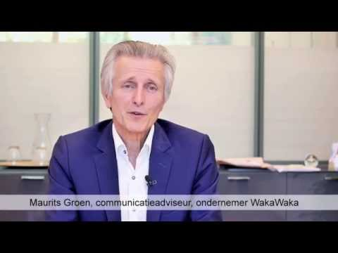 Maurits Groen (WakaWaka) over Business & Society