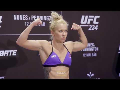 UFC 224 Weigh-Ins: Amanda Cooper Makes Weight - MMA Fighting