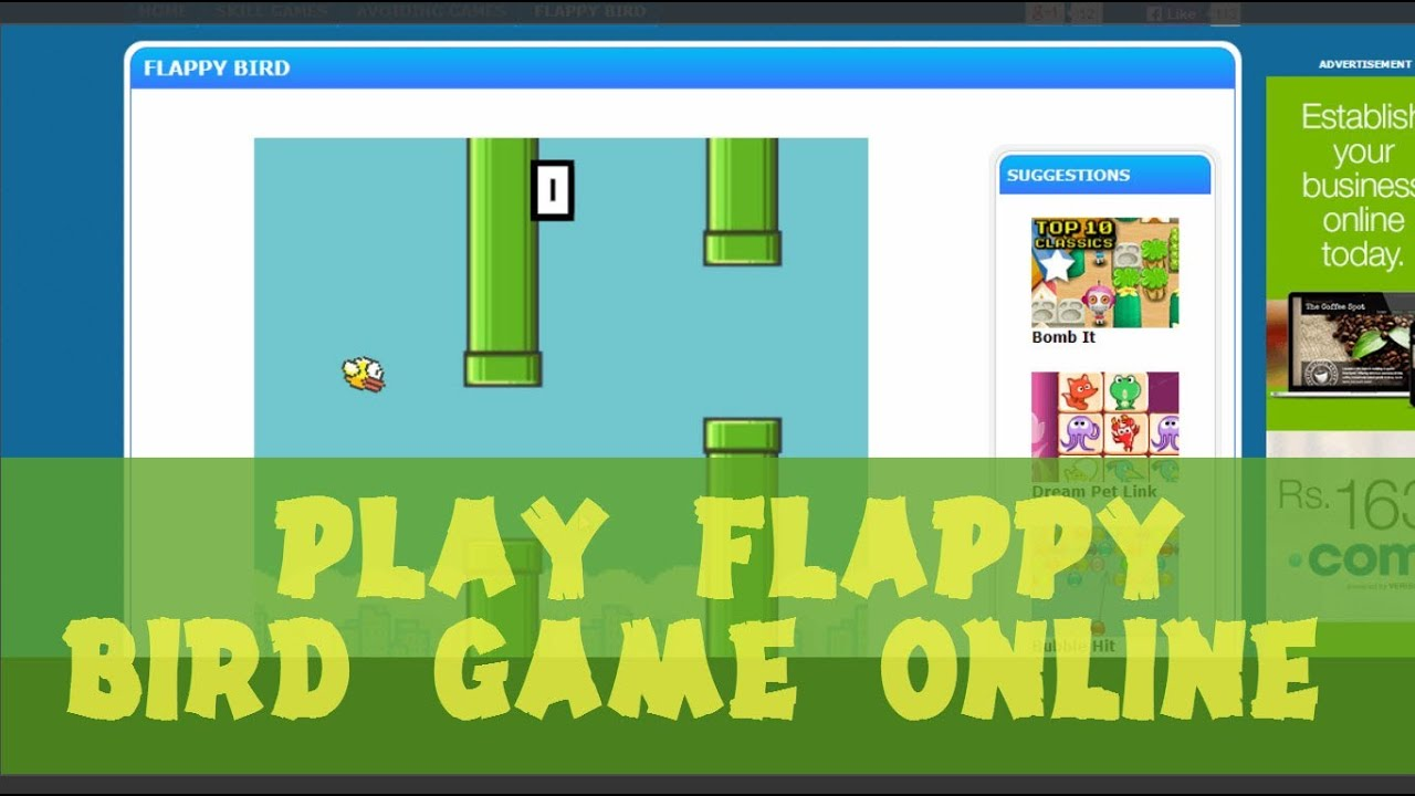 how to play flappy golf online max