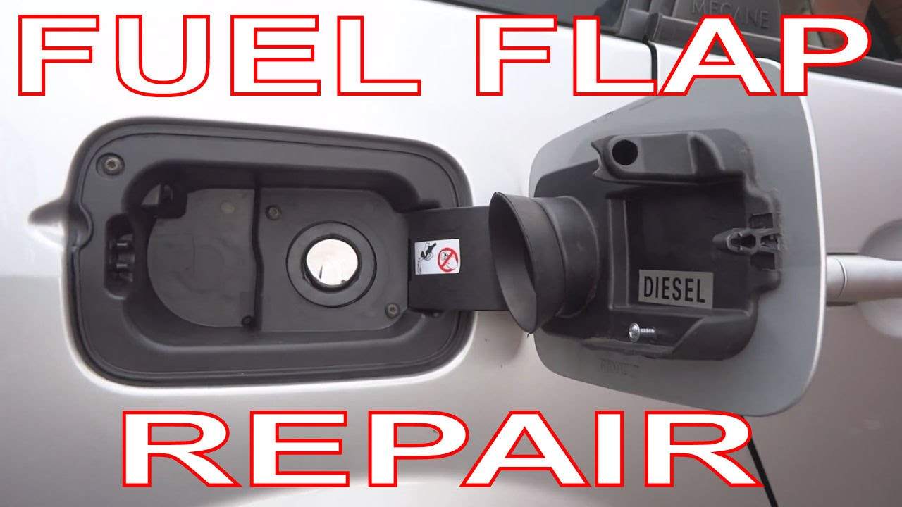 How To Repair A Fuel Filler Flap On Renault Megane 2