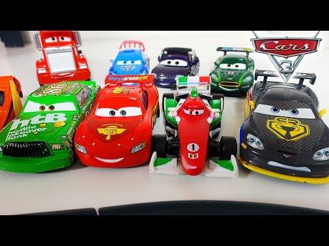 Тачки - Тачки Молния Маквин ГОНКИ Новые мультики про машинки 2017 для детей Disney Cars McQueen