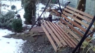 видео Сад зимой