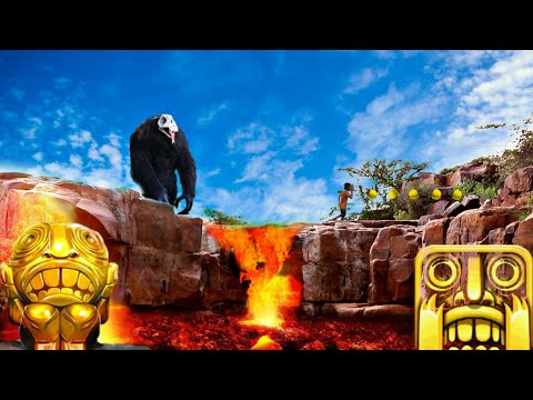 TEMPLE RUN Blazing Sands In Real Life : AAk Videos