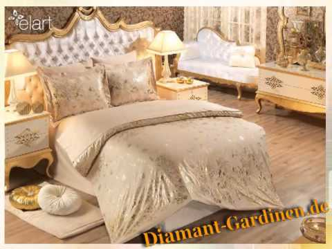 gardinen modelle diamant gardinen de youtube. Black Bedroom Furniture Sets. Home Design Ideas