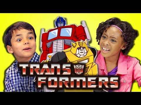Kids React to Old Transformers Vs. New Transformers