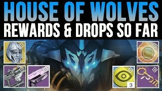 Destiny House of Wolves Nightfall Drops, Etheric Light, Treasure Keys, Coins, Vestian Dynasty