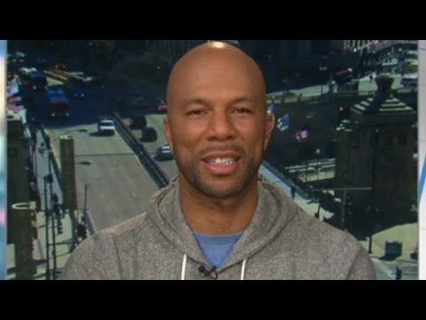 Rapper Common aims to empower Chicago's youth