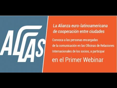 1° Webinar #ALLAS: La Comunicación de la Acción Exterior de los Gobiernos Locales