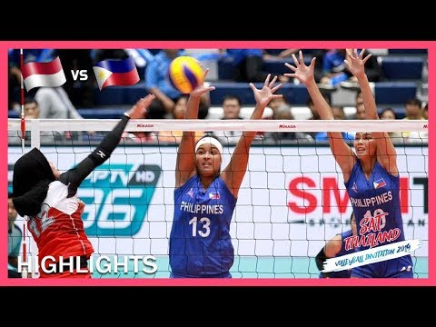 Indonesia vs Philippines   Highlights   Day 1   ASEAN Grand Prix 2019