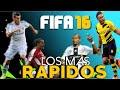 EL TOP 10 MAS RÁPIDO     FIFA 16     LOS MAS RÁPIDOS Y FURIOSOS