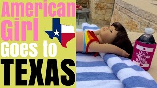American Girl Doll Samantha Travels to Texas
