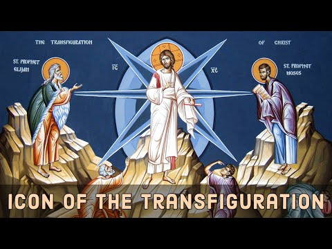 The Icon of the Transfiguration of the Savior