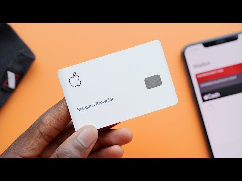 Apple Card Unboxing