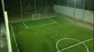 مقاسات ملعب كرة القدم الخماسي Youtube