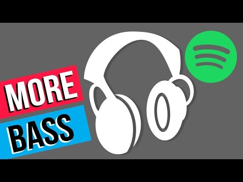 How to get more bass from your headphones! | Spotify EQ
