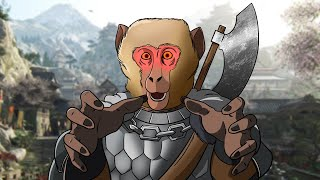 For Honor but everyone has a monkey brain