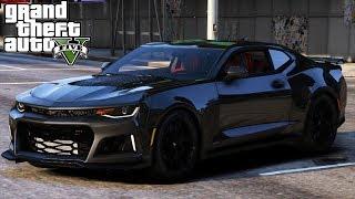 GTA V - Real Life Mods  6 - Buying a 2017 Camaro ZL1 \u0026 New Garage