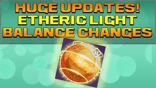 DESTINY - USES FOR ETHERIC LIGHT! MORE WEAPON PARTS! BALANCE UPDATE!