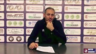 🗣 Le voci del post-partita di BPC Virtus Cassino - Sant'Antimo