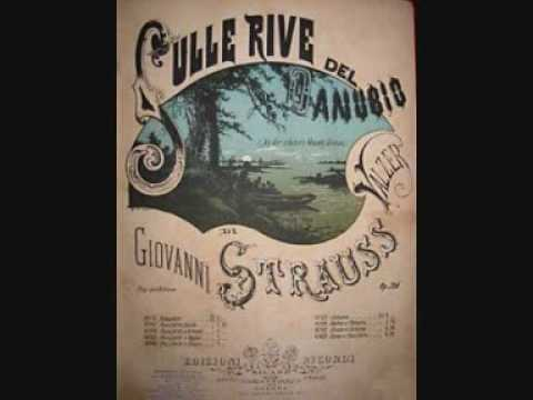 Sul Bel Danubio Blu Johann Strauss