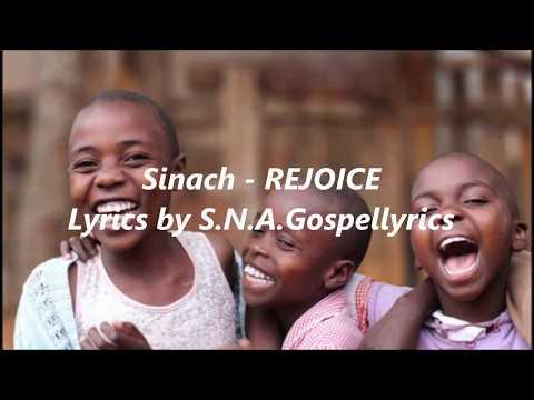 Sinach - REJOICE lyrics