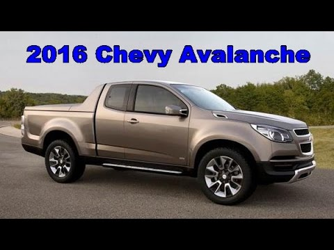 Chevrolet Avalanche 2016 >> 2016 Chevy Avalanche Exterior And Interior Youtube
