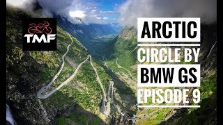 The Arctic Circle by BMW R1200GS - Episode 9 - The Trollstigen Pass and onwards towards Bergen