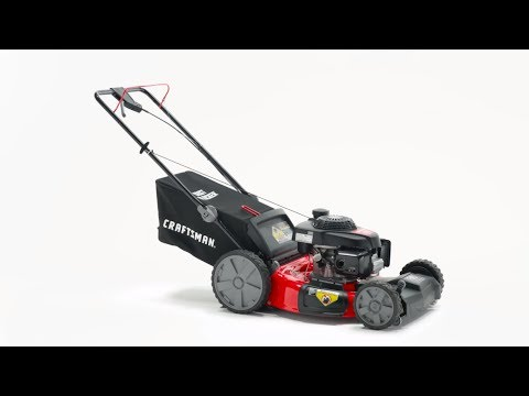CRAFTSMAN M250 160-cc 21-in Self-propelled Gas Lawn Mower with Honda Engine