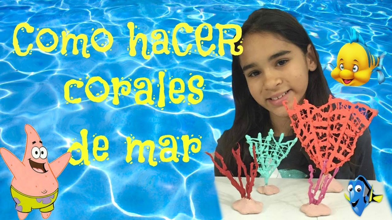 Como hacer corales de mar para tus mu ecas youtube - Como hacer farolillos de feria ...