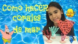 Como Hacer Corales de Mar para tus muñecas