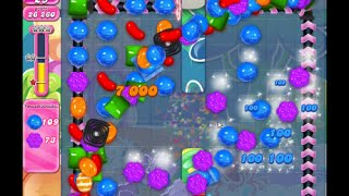 Candy crush saga level 650 !! 3 stars and no boosters!