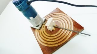 Make An Easy Circle Cutting Jig