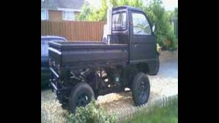 Bedford Rascal 4x4 Off Road Conversion