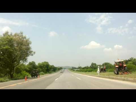 Islamabad to Topi,Swabi Burhan Motorway Pakistan