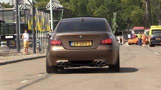 BMW M5 V10 Mosselman Performance - LOUD EXHAUST SOUNDS!