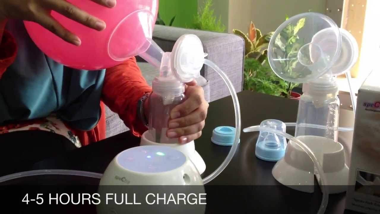Spectra Cimilre M1 Double Electric Breast Pump - Youtube-3749