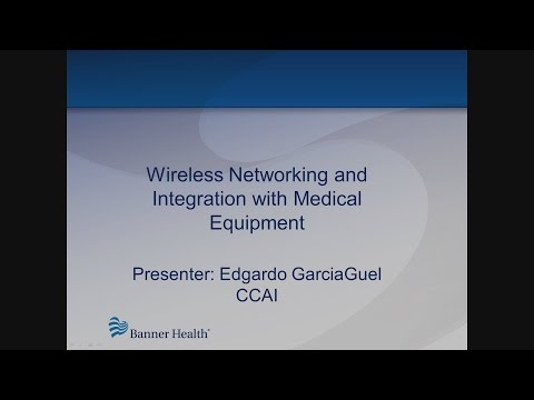 Wireless Networking and Integration with Medical Equipment - MD Expo Vegas 2015