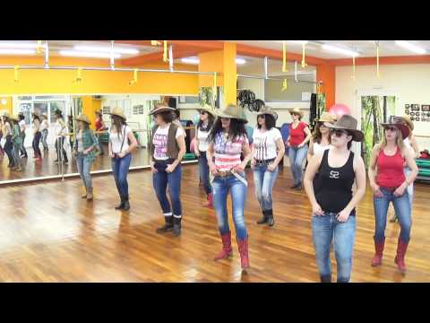 BIG & RICH SAVE A HORSE RIDE A COWBOY LINE DANCE DANA