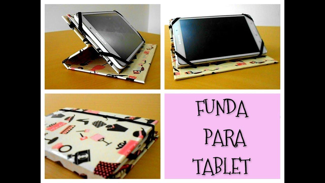 Como hacer una funda para tablet f cil y r pido youtube - Cosas hechas a mano para vender ...