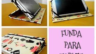 Como hacer una funda para tablet fácil y rápido