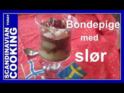 How To Make Old Fashion Danish Apple Rye Bread Dessert Called Bondepige Med Slør 🍎